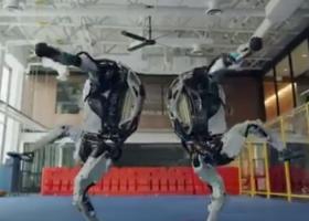 波士顿动力机器人跳舞